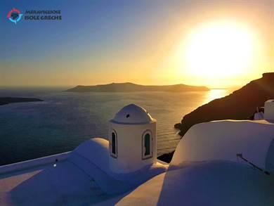SANTORINI: Tramonti di Santorini