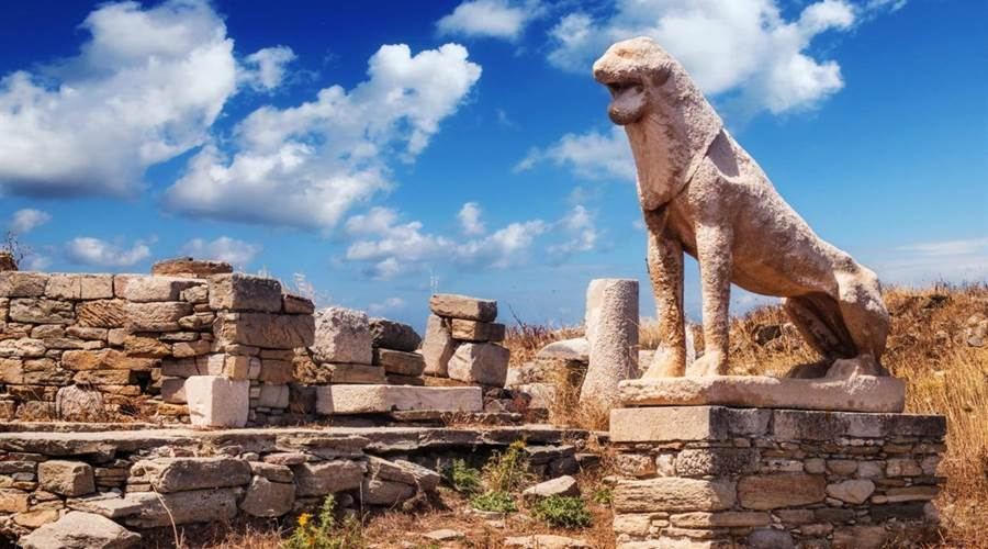 MYKONOS: Isola di Delos