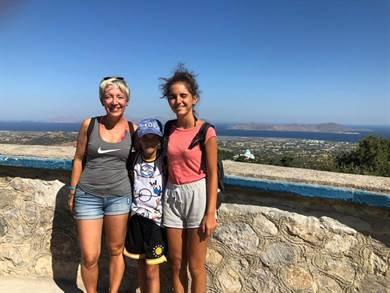 Bellissimo viaggio a Kos organizzato da Juna per me e i miei figli di 14 e 9 anni.
