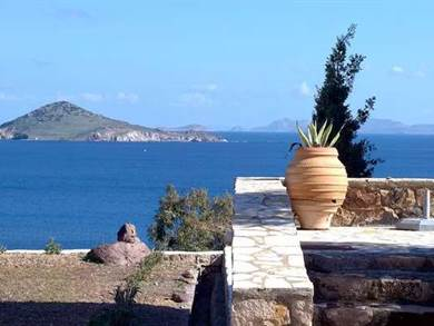 Tradizionale Appartamento vista mare Patmos