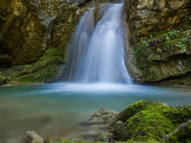 LEFKADA: Dimosari Waterfalls