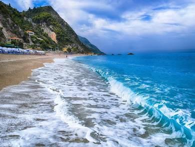 LEFKADA: Spiaggia di Kathisma