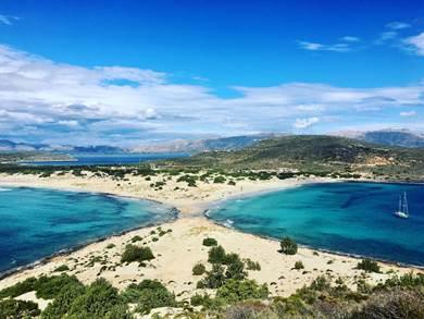 Elafonissos: Spiaggia di Simos