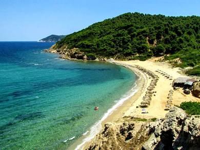SKIATHOS: Spiaggia di Mandraki