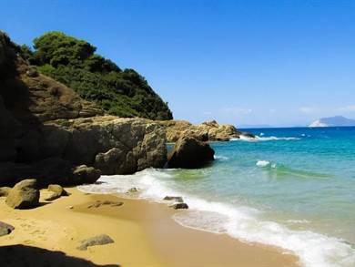 SKIATHOS: Spiaggia di Banana Beach