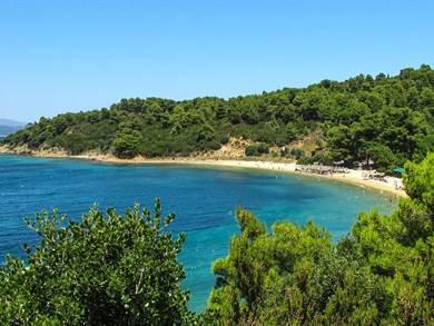 SKIATHOS: Spiaggia di Agia Eleni