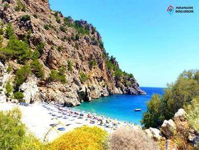 KARPATHOS: Spiaggia di Achata