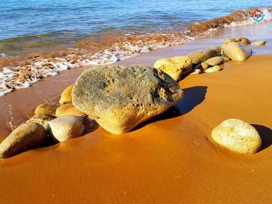 KEFALONIA: Xi Beach