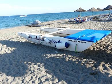 RODI: Spiaggia di Lardos