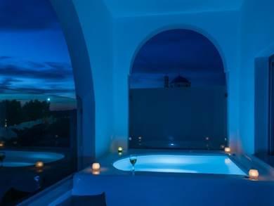 Aspornisi Luxury Villa - Megalochori - Santorini