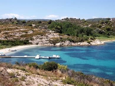 Isola di Diaporos PENISOLA CALCIDICA