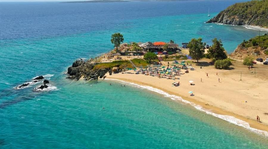 Spiaggia di Tristinika PENISOLA CALCIDICA SITHONIA