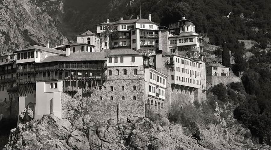 I Monasteri del Monte Athos PENISOLA CALCIDICA