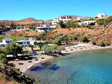 Spiaggia di Megas Gialos Syros - Meravigliose Isole Greche