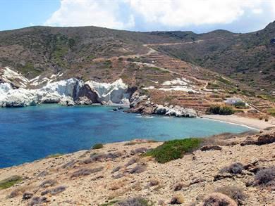 Spiaggia di Monastiria e Spiaggia di Soufi Kimolos