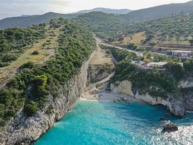 Xigia beach foto by By dronepicr - Xigia Beach Zakynthos, CC BY 2.0, httpscommons.wikimedia.orgwindex.phpcurid=79058933