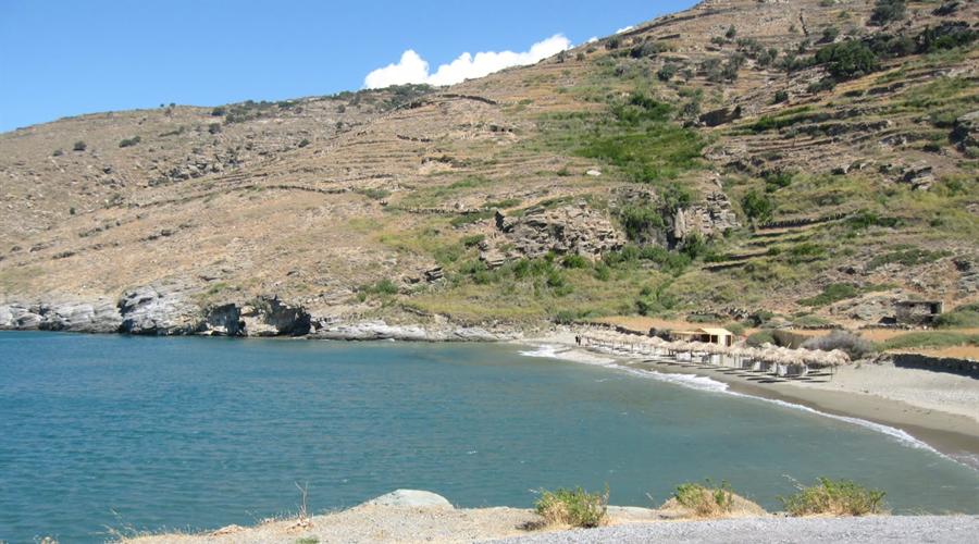 Spiaggia di Chalkolimionas Andros - Meravigliose Isole Greche