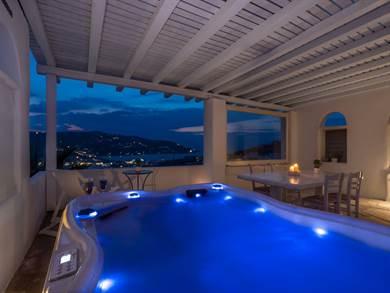 Ornos Blue - Ornos - Mykonos - Appartamento vista mare con jacuzzi esterna