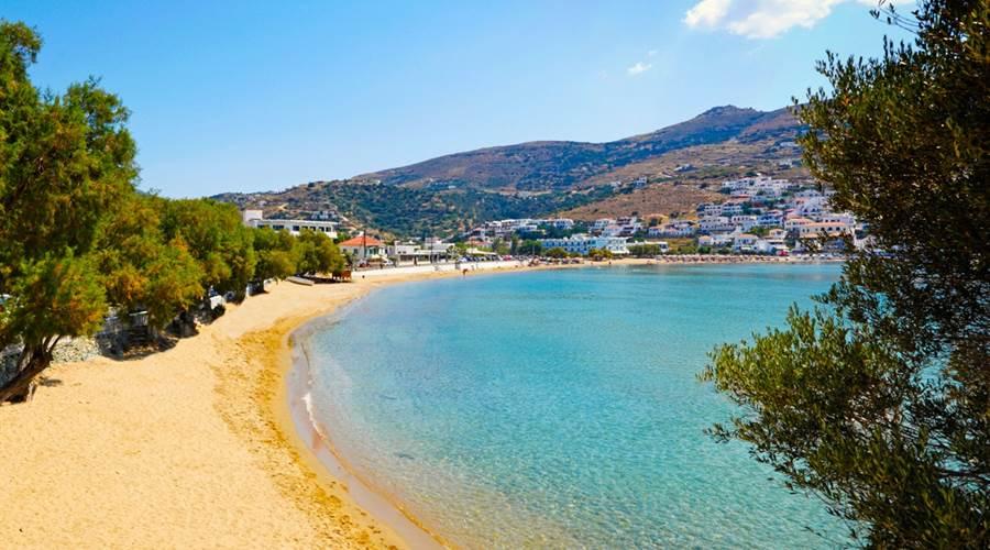 Spiaggia di Batsi Andros - Meravigliose Isole Greche