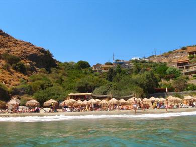 Spiaggia di Piso Gialia foto by www.andros-guide.gr