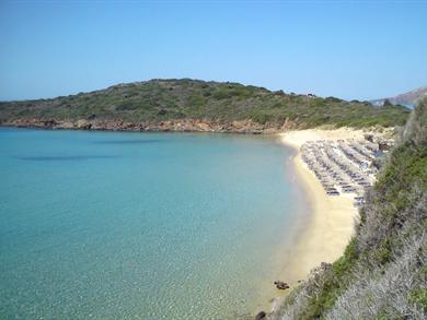 Spiaggia Golden Sand Andros - Meravigliose Isole Greche