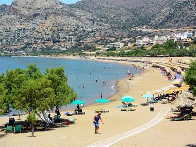 Spiaggia di Pachia Ammos Creta - Meravigliose Isole Greche