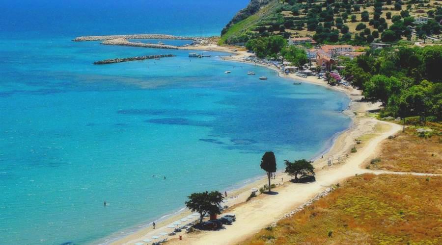 Spiaggia di Katelios Cefalonia - Meravigliose Isole Greche