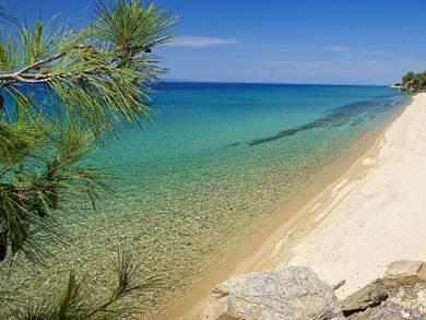 Spiaggia di Mola Kalyva foto by www.nikiana.gr
