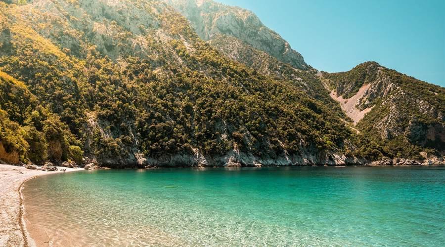Spiaggia di Thapsa foto by www.discoverygreece.com
