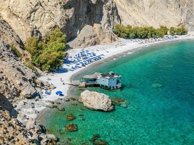 Spiaggia di Glyka Nera foto by www.allincrete.com