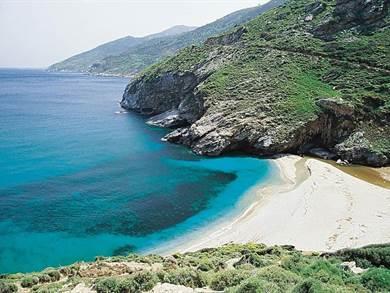Agios Dimitrios beach foto by www.all4yachting.com