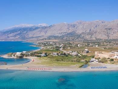 Spiaggia di Frangokastello foto by www.west-crete.com
