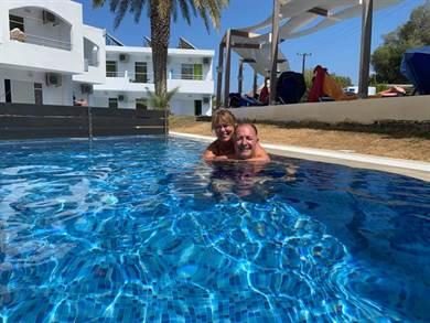 Grazie Juna per la professionalità e la cordialità. La nostra vacanza a Creta è stata meravigliosa….