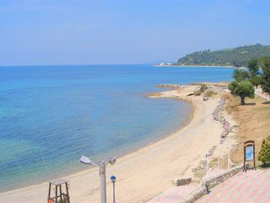 Spiaggia di Agia Pareskevi foto by www.greece.com