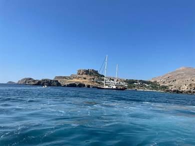 Siamo stati in vacanza per la prima volta nelle isole Greche