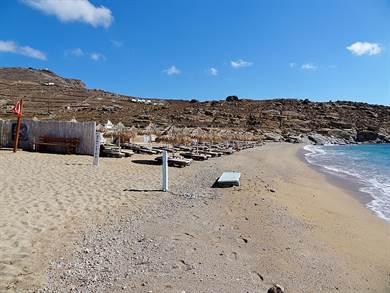 Spiaggia di Lia Mykonos - Meravigliose Isole Greche