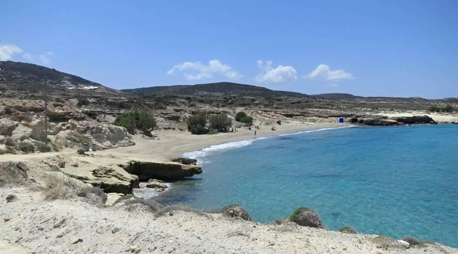 Spiaggia di Alogomandra Milos - Meravigliose Isole Greche