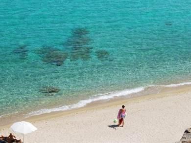 Spiaggia di Livrochio Penisola Calcidica